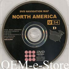 2007 2008 Lexus RX400h RX400 GPS Navigation DVD Map PT219-GEN-05 100%OEM