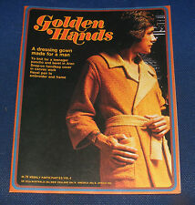 GOLDEN HANDS MAGAZINE PART 53 - A DRESSING GOWN MADE FOR A MAN