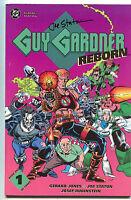 Guy Gardner Reborn 1 DC 1992 NM- Signed Joe Staton Green Lantern Lobo