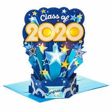 Hallmark Graduation 2020 Pop Up Card ~ Light Up Musical Class of 2020 w/Stars
