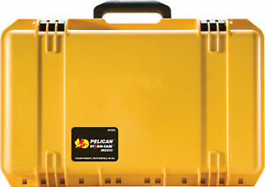 Pelican Storm iM2500 Rigid Case with pull out handle & wheels YELLOW -Free Ship-