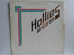 The Hollies – LP – Write On / Polydor 2374 120 von 1975