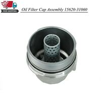 Engine Oil Filter Housing Cover Cap Fits Toyota Avalon Camry Sienna 15620-31060