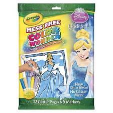 Crayola Color Wonder Disney Princess - Includes Cinderella Belle for 2015