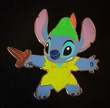 LE 100 SOLD OUT Peter Pan Costumed Stitch Lilo Tinker Bell Disney Shopping Pin