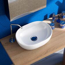 Lavabo appoggio 60x42 bacinella arredo bagno design lavandino in ceramica