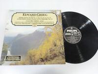 Edvard Grieg Peer Gynt Neumann Dohnányi LP Vinyl VG + Spanisch Ed Philips