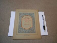 Antique Wills's Cigarette Picture-Card Album for large size Cards.