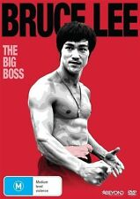 BRUCE LEE: The Big Boss DVD Movie BRAND NEW Martial Arts Region 4 FREE POSTAGE