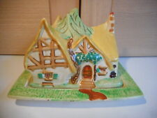 ART DECO wadeheath Wade Walt Disney Blanche Neige sept nains Cottage Cheese Dish