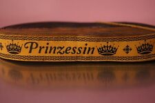 2538 Webband Prinzessin 22mm Breite Eigenproduktion Ripsband, Borte, Webband
