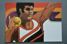 R&L Postcard: 1984 Los Angeles Olympics, Robert Peak, Shot Put