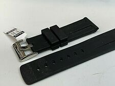 Scuba Fin Dive watch band Rubber / Silicone 24MM Sports Panerai substitute