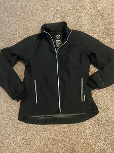 Women's Zero Restriction Gore-Tex Golf Full Zip Black Jacket Windbreaker Small
