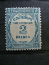 FRANCE neuf  taxe n° 61  légère trace de charnière