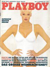 Playboy 12/87 Dezember 1987 Sylvester Stallone Ex Reality Star Brigitte Nielsen