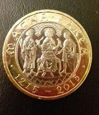 £2 coin 800th Anniversary of  the Magna Carta centenary 1215-2015 (RARE )reduced