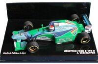 MINICHAMPS BENETTON FORD F1 model cars Lehto Verstrappen & Herbert 1994 1:43rd