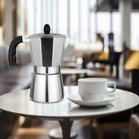 Cafetera 6 tazas Moka Espresso Latte Pot Jarra Tetera stove Top italiano olla ES