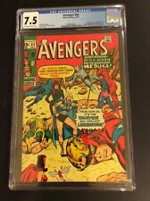 THE AVENGERS #83 1st App Liberators CGC 7.5 Marvel Comics Black Widow Valkyrie