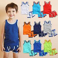 """Vaenait Baby Clothes Toddler Boy Underwear Undershirt Boxer Set """"Days set"""" 2T-8T"""