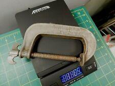Vtg.Sargent & Co. Number 14 Cast Iron Antique C-Clamp