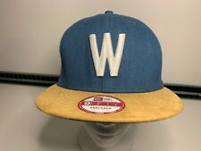 Washington Senators MLB New Era Blue Gold Baseball Cap Hat SnapBack Cooperstown