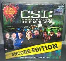 CSI: Crime Scene Investigation - The Board Game - Encore Edition - NEW