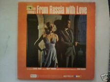 From Russia With Love 007-1963-John Barry-Soundtrack-Record  LP