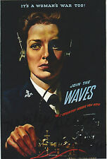Marilyn Bigelow Signed 4x6 Photo W.A.V.E.S World War 2 D-Day US Navy Rosie