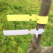 200X Plastic Plant Tree Hanging Markers Tags Nursery Seed Gardening Labels DSUK