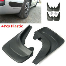 4Pcs Universal Plastic Car Truck Fender Mud Flaps Mudguards Splash Guards Black