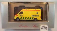 Herpa 1/87 Mercedes Benz Sprinter RTW Alarmerings Ambulance Ost NL OVP #5734