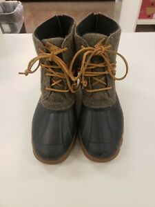Womens sperry duck boots size 12