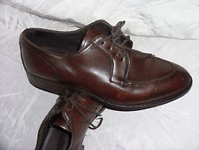 MASSIMO DUTTI MEN'S BROWN Leather LACE UP SHOES SIZE UK 9 EU 43 VGC