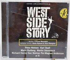 Svensk Jubileumsversion AV West Side Story Music CD Leonard Bernstein Rybrant