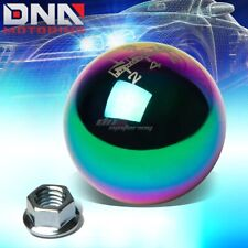 NRG ANODIZED BALL TYPE STYLE M10x1.5 5-SPEED GEAR SHIFTER SHIFT KNOB NEO CHROME
