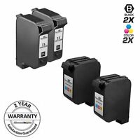 4 PK For HP 15 & 78 Ink Cartridges For Color Copier FAX Deskjet Officejet PSC