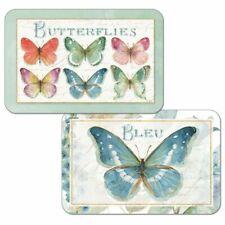 Rainbow Butterflies Butterfly Decosoft Plastic Reversible Placemats Set of 4