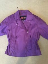 Ladies Textile Motorcycle Jacket and insulated chaps Size M