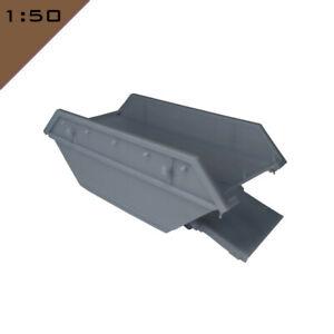 1x 3D printed 8 CU.YD. BUILDER'S/ WASTE SKIP 1:50 Model Miniature Scenery Layout