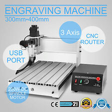 USB CNC ROUTER ENGRAVER ENGRAVING CUTTING 3 AXIS 3040T MILLING MACHINE DRILLING