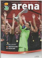 Orig.PRG  Frauen WM Qualifikation  21.09.2013   DEUTSCHLAND - RUSSLAND !! SELTEN