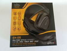 NEW Gioteck EX-05 Military Style Wired Headset Headphones for Playstation 3 PS3