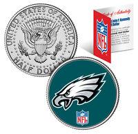 PHILADELPHIA EAGLES NFL JFK Kennedy Half Dollar US Coin  *Officially Licensed*
