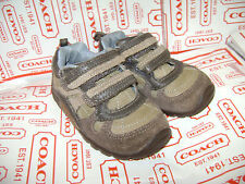 STRIDE RITE OWEN TODDLER BOYS SHOES SNEAKERS size 5.5 W BROWN TAN LEATHER
