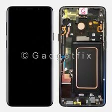 US Black LCD Touch Screen Digitizer Frame Replacement For Samsung Galaxy S9 Plus