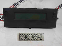 Renault Megane 2006-2008 Display Centre Clock 8200290542