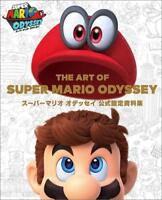 Super Mario Odyssey  ArtBook Design Materials Nintendo Switch Japan NEW