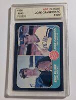 1986 #649 Fleer Jose Canseco ASA 8